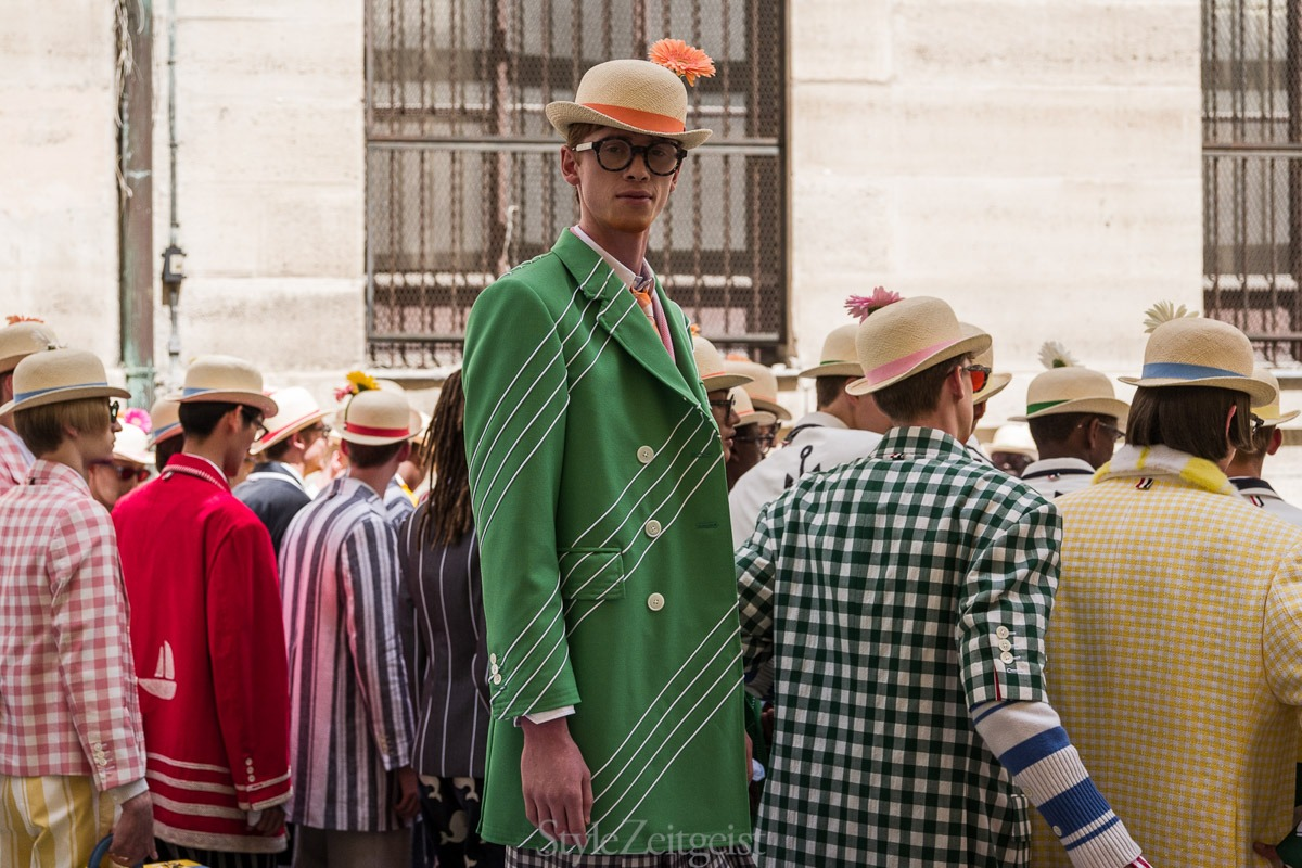 Thom Browne S/S19 Men's - Paris Backstage - fashion - Thom Browne, SS19, Spring Summer, PFW, Paris Fashion Week, Paris, MENSWEAR, Mens Fashion, Julien Boudet, Fashion, Backstage, 2018