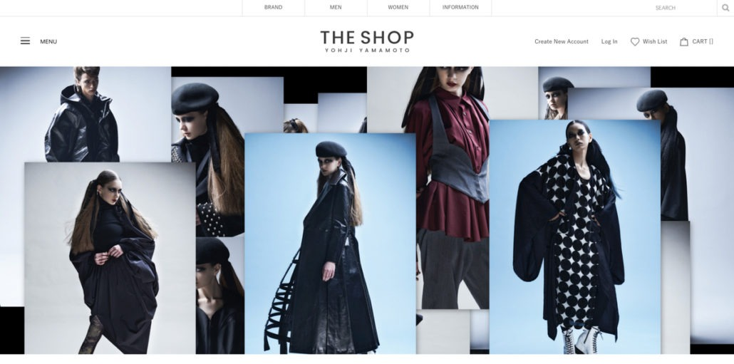 Yohji Yamamoto Launches E-commerce - retail, fashion - Yohji Yamamoto, Y's, Womenswear, Women's Fashion, MENSWEAR, Mens Fashion, Limi Feu, Japanese Fashion, Japanese, GroundY, Fashion, discord, 2018, +NOIR