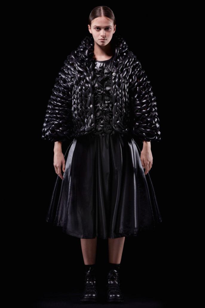Moncler 6 Noir Kei Ninomiya F/W18 Women's - Lookbook - Womenswear, Women's Fashion, Noir Kei Ninomiya, Moncler, Fw18, Fashion, Fall Winter, 2018