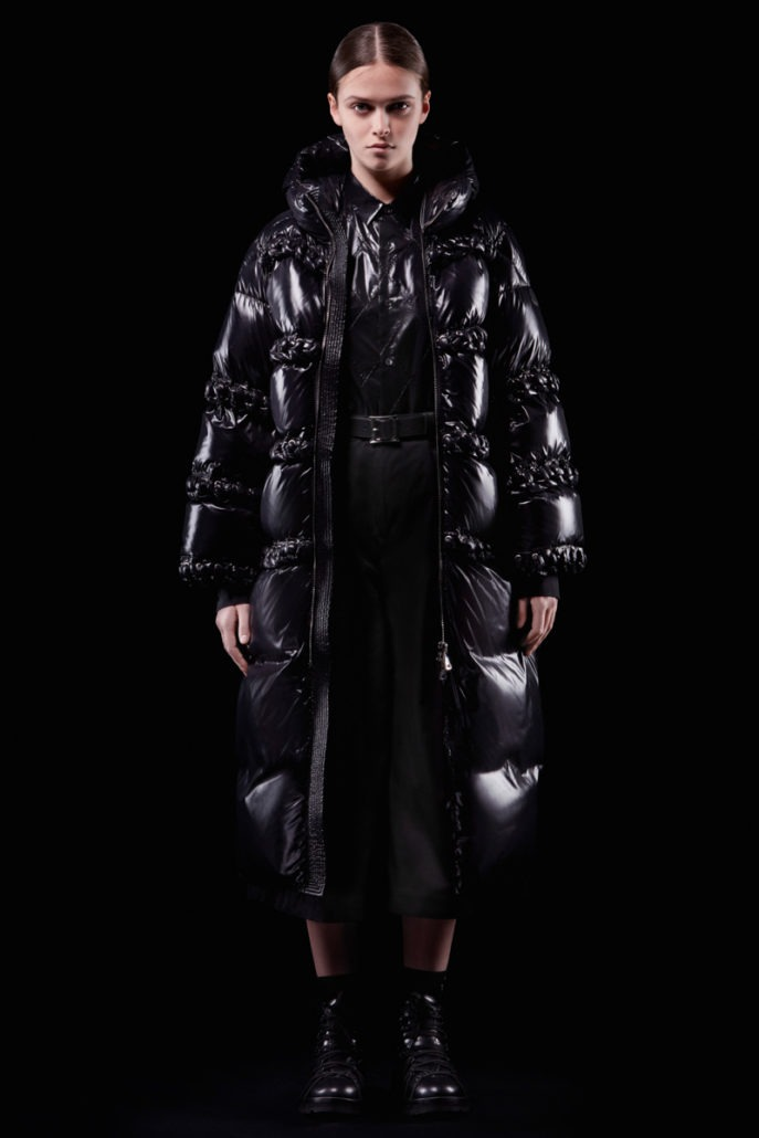 Moncler 6 Noir Kei Ninomiya F/W18 Women's - Lookbook - fashion - Womenswear, Women's Fashion, Noir Kei Ninomiya, Moncler, Fw18, Fashion, Fall Winter, 2018