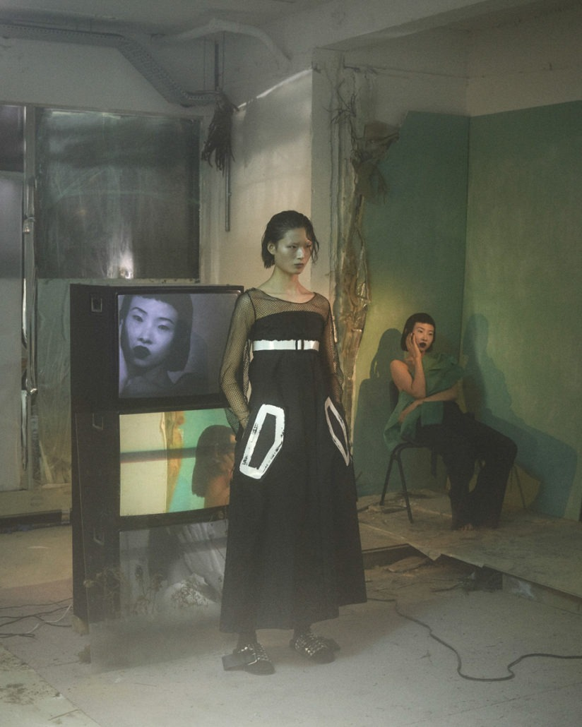 Yang Li S/S19 Women's – Lookbook - fashion - Yang Li, Womenswear, Women's Fashion, SS19, Spring Summer, PFW, Paris Fashion Week, Paris, lookbook, Fashion, 2018