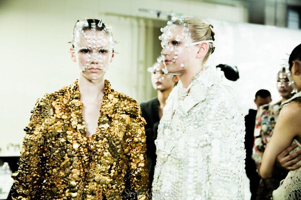 Anrealage 15-Year Retrospective Show - Tokyo Backstage - fashion - Womenswear, Women's Fashion, Tokyo, Kunihiko Morinaga, Japanese Fashion, Fashion, Anrealage, 2018