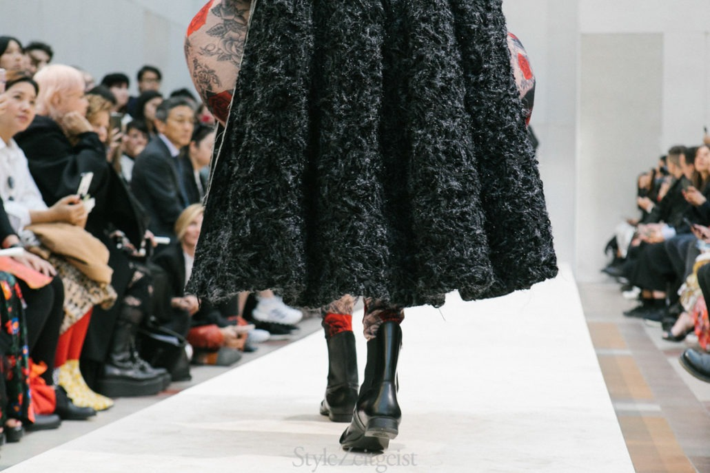Comme des Garçons S/S19 Women's – Paris - fashion - Womenswear, Women's Fashion, SS19, Spring Summer, PFW, Paris Fashion Week, Paris, Matthew Reeves, Fashion, Comme Des Garcons, 2018