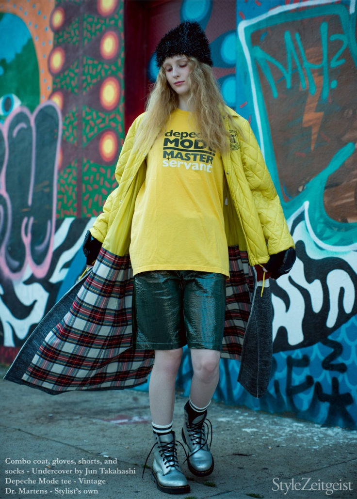 Editorial: TOTAL YOUTH - Yana Baradim, Womenswear, Women's Fashion, Undercover, StyleZeitgeist, Sacai, nine inch nails, New Order, Fw18, Fashion, Fall Winter, Editorial, Depeche Mode, 2018