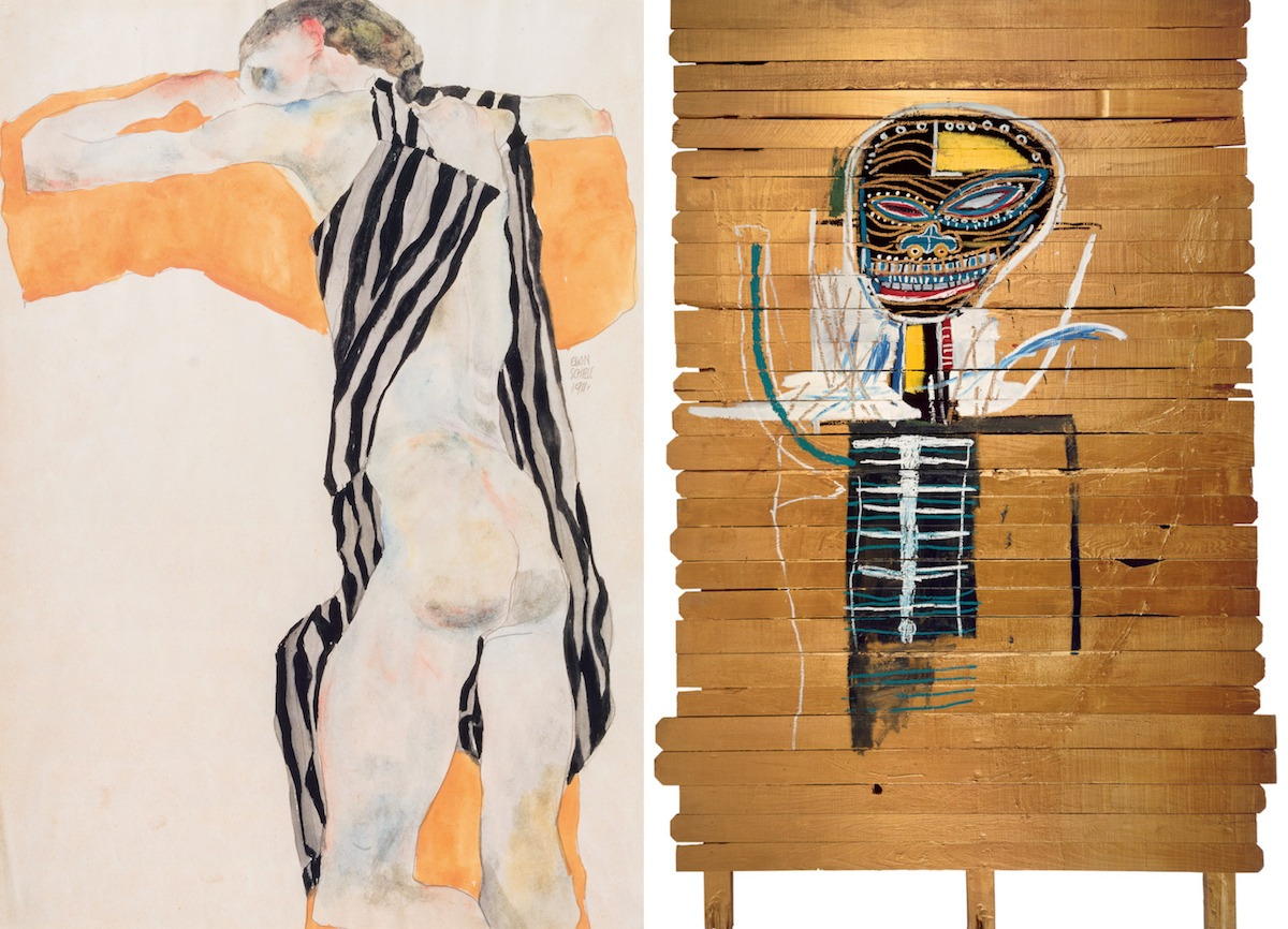 Egon Schiele and Jean-Michel Basquiat at the Foundation Louis Vuitton - culture - Paris, Louis Vuitton, Jean-Michel Basquiat, Egon Schiele, Culture, Art, 2018