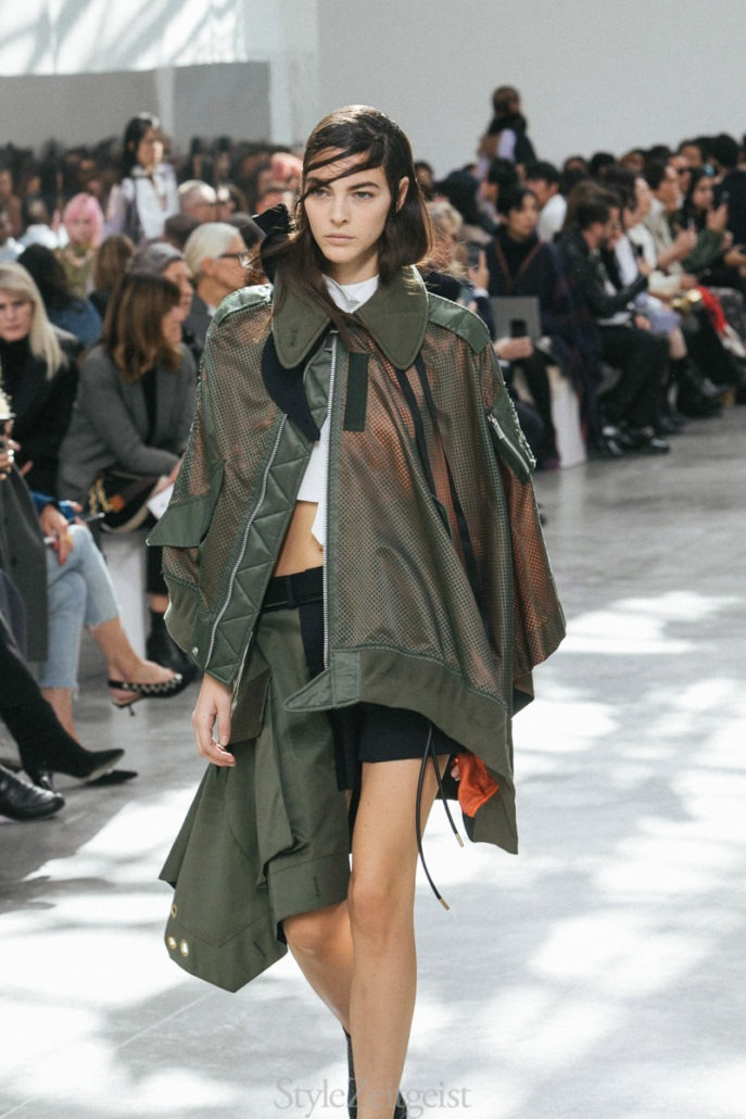 Sacai S/S19 Women's – Paris - fashion - Womenswear, Women's Fashion, SS19, Spring Summer, Sacai, PFW, Paris Fashion Week, Paris, Matthew Reeves, Fashion, 2018