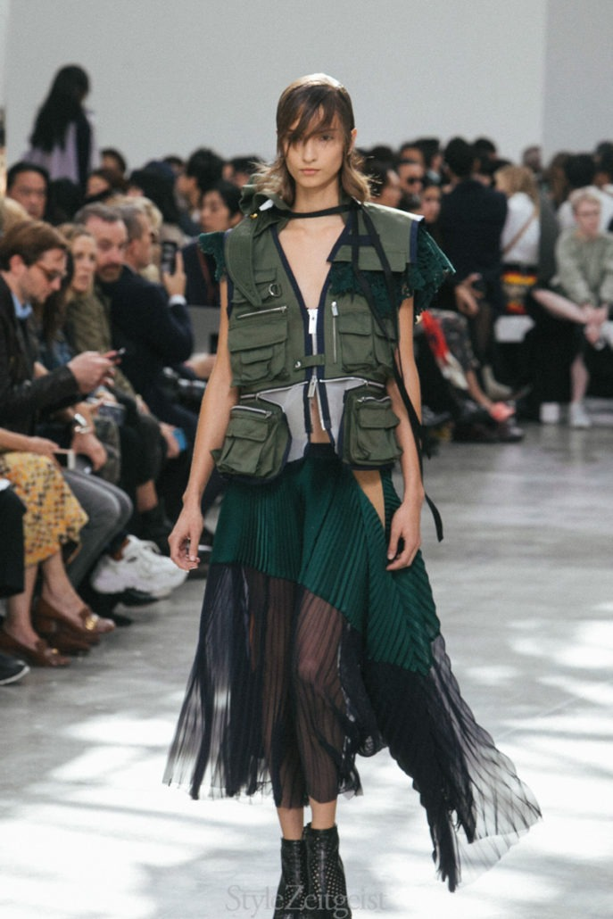 Sacai S/S19 Women's – Paris - Womenswear, Women's Fashion, SS19, Spring Summer, Sacai, PFW, Paris Fashion Week, Paris, Matthew Reeves, Fashion, 2018
