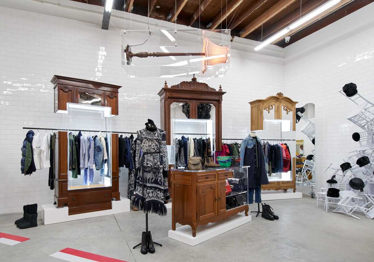 Dover Street Market Opens in Los Angeles - retail, fashion - Retail, Los Angeles, Fashion, Dover Street Market, Comme Des Garcons, 2018