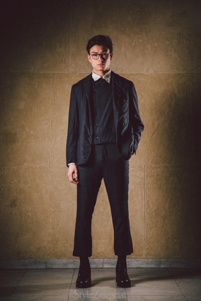 """Geoffrey B. Small F/W19  – """"the onion"""" - fashion - PFW, Paris Fashion Week, Paris, MENSWEAR, Mens Fashion, Matthew Reeves, Geoffrey B. Small, FW19, Fashion, Fall Winter, 2019"""
