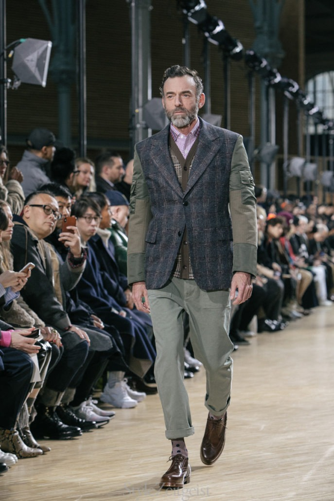 Junya Watanabe F/W19 Men's – Paris - fashion - PFW, Paris Fashion Week, Paris, MENSWEAR, Mens Fashion, Matthew Reeves, Junya Watanabe, FW19, Fashion, Fall Winter, 2019