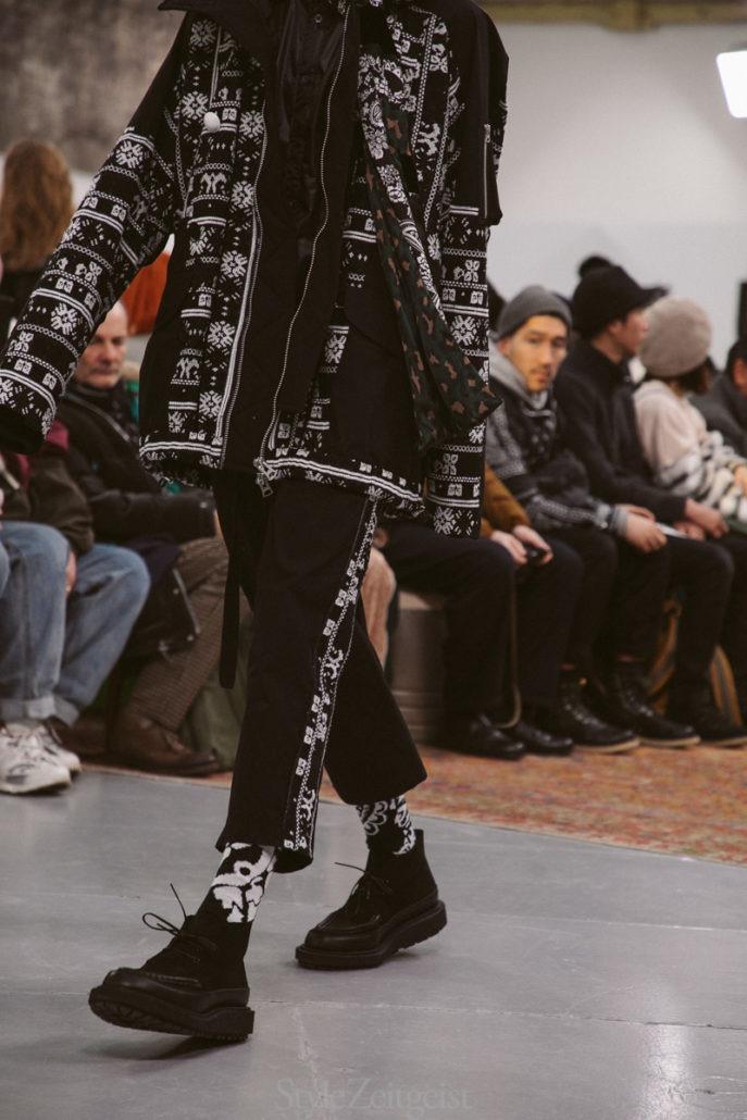 Sacai F/W19 Men's – Paris - fashion - Sacai, PFW, Paris Fashion Week, Paris, MENSWEAR, Mens Fashion, Matthew Reeves, FW19, Fashion, 2019