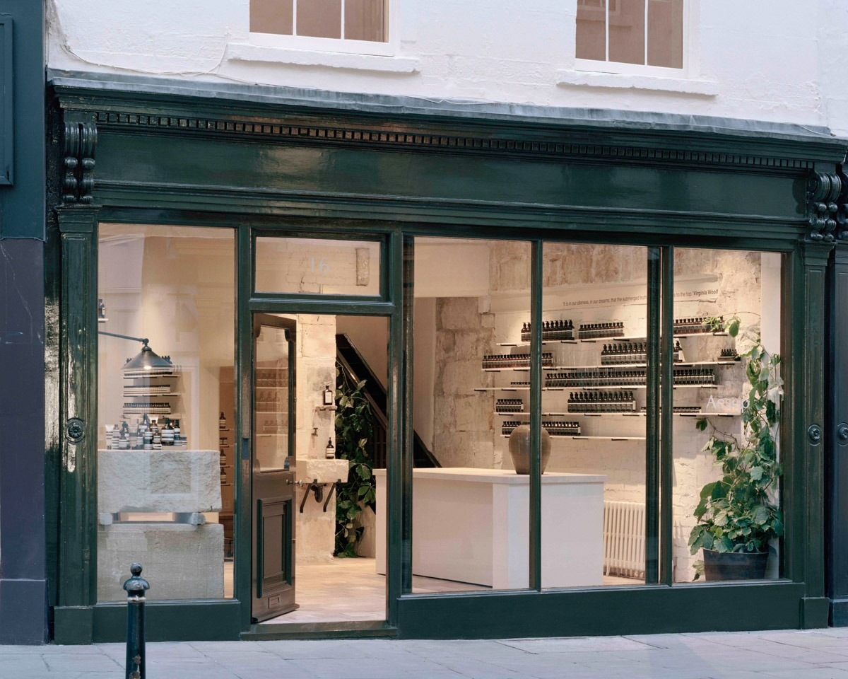 Aesop Opens New Store in Bath, England - retail, design - Retail, JamesPlumb, Interior Design, Dennis Paphitis, Aesop, 2019
