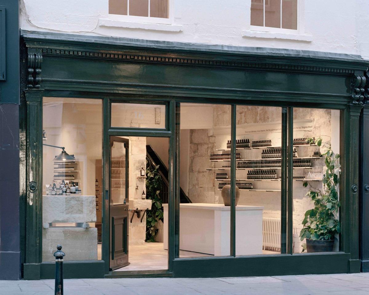 Aesop Opens New Store in Bath, England - retail, design - Retail, JamesPlumb, Interior Design, Dennis Paphitis, Aesop, 2019