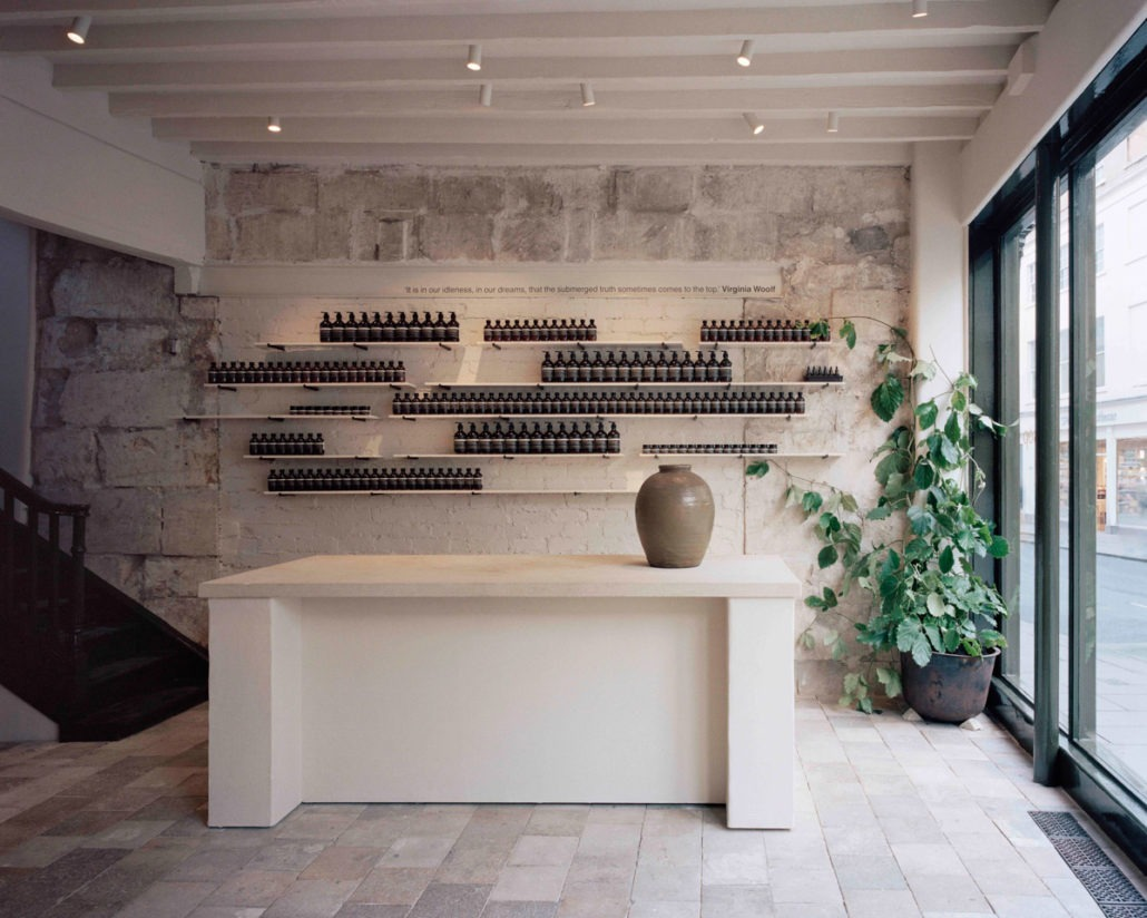 Aesop Opens New Store in Bath, England - Retail, JamesPlumb, Interior Design, Dennis Paphitis, Aesop, 2019