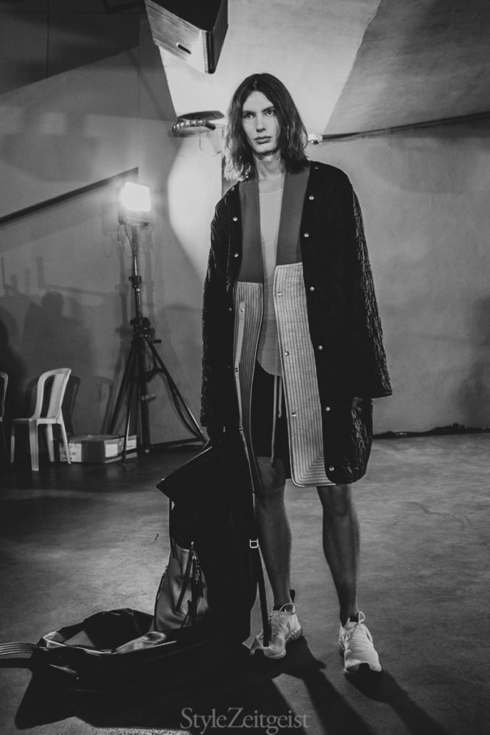 Rick Owens F/W19 Men's – Paris Backstage - fashion - Rick Owens, PFW, Paris Fashion Week, Paris, MENSWEAR, Mens Fashion, Matthew Reeves, FW19, Fashion, Fall Winter, Backstage, 2019