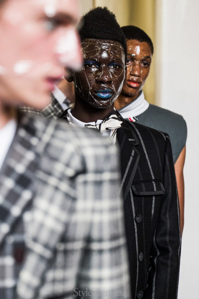 Thom Browne F/W19 Men's – Paris Backstage - Thom Browne, PFW, Paris Fashion Week, Paris, MENSWEAR, Mens Fashion, Julien Boudet, FW19, Fashion, Fall Winter, Backstage, 2019