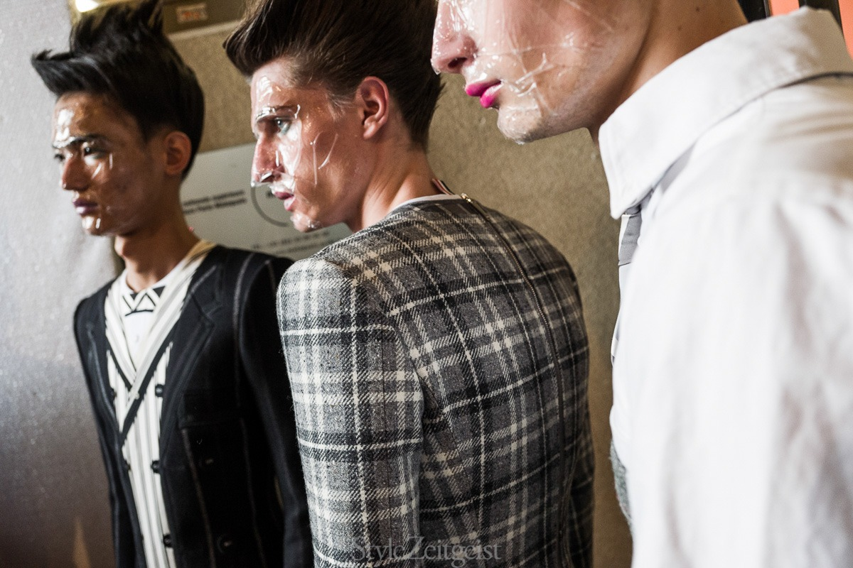 Thom Browne F/W19 Men's – Paris Backstage - fashion - Thom Browne, PFW, Paris Fashion Week, Paris, MENSWEAR, Mens Fashion, Julien Boudet, FW19, Fashion, Fall Winter, Backstage, 2019