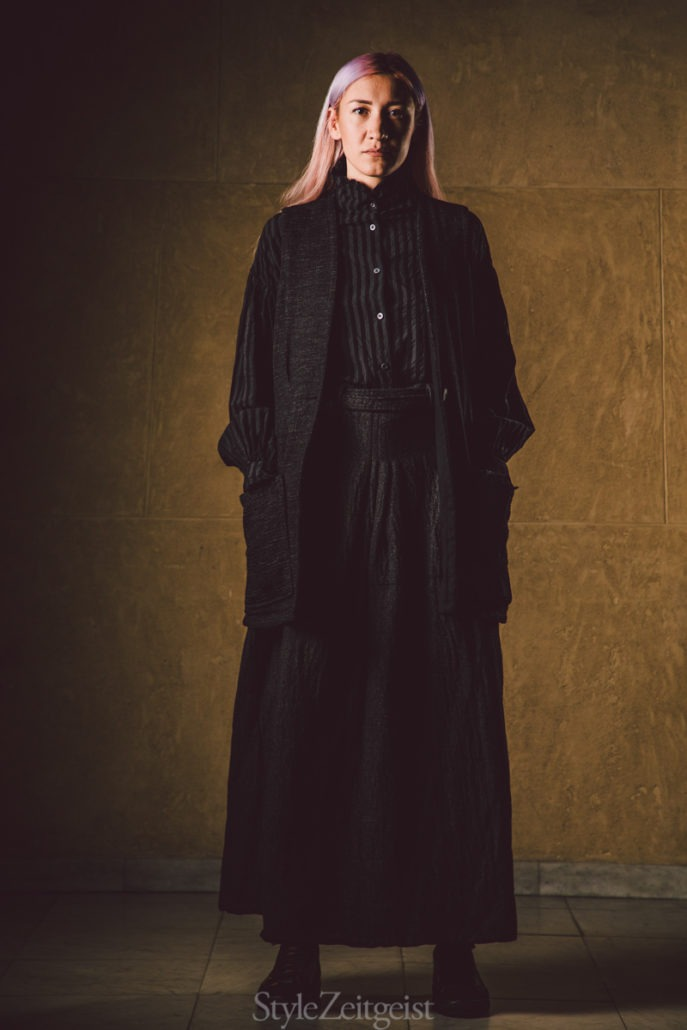 "Geoffrey B. Small F/W19 Women's - ""I Am Not Sustainable"" - Womenswear, Women's Fashion, PFW, Paris Fashion Week, Paris, Matthew Reeves, Geoffrey B. Small, FW19, Fashion, Fall Winter, 2019"