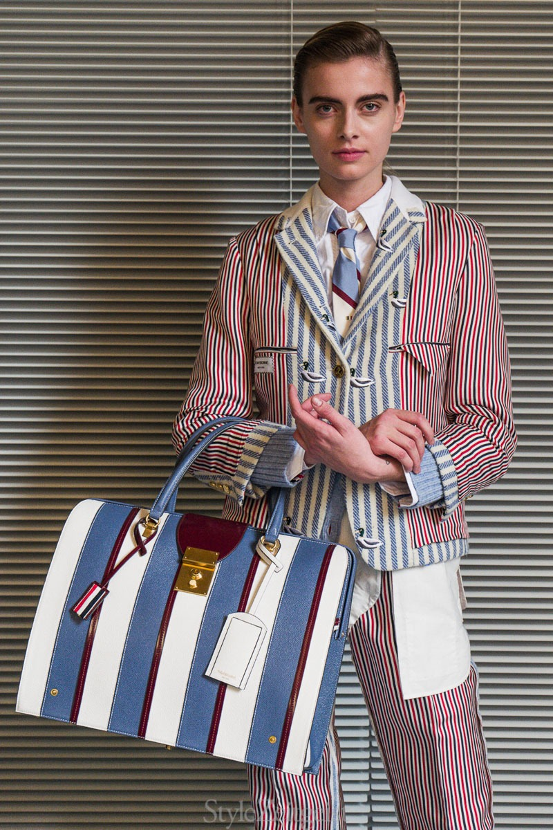 Thom Browne F/W19 Women's – Paris Backstage - fashion - Womenswear, Women's Fashion, Thom Browne, PFW, Paris Fashion Week, Paris, Julien Boudet, FW19, Fashion, Fall Winter, Backstage, 2019
