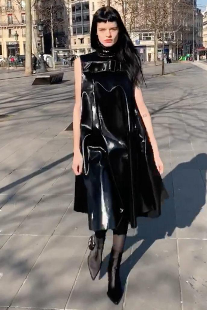 "Yang Li F/W19 Women's – ""Automatic Show"" - fashion - Yang Li, Womenswear, Women's Fashion, PFW, Paris Fashion Week, Paris, FW19, Fashion, Fall Winter, 2019"