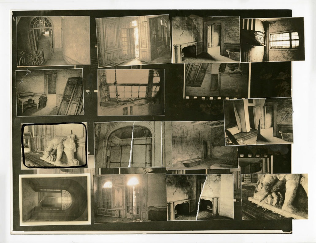 Deborah Turbeville Collages at Deborah Bell - Photography, fashion photography, Exhibit, Deborah Turbeville, Deborah Bell, 2019