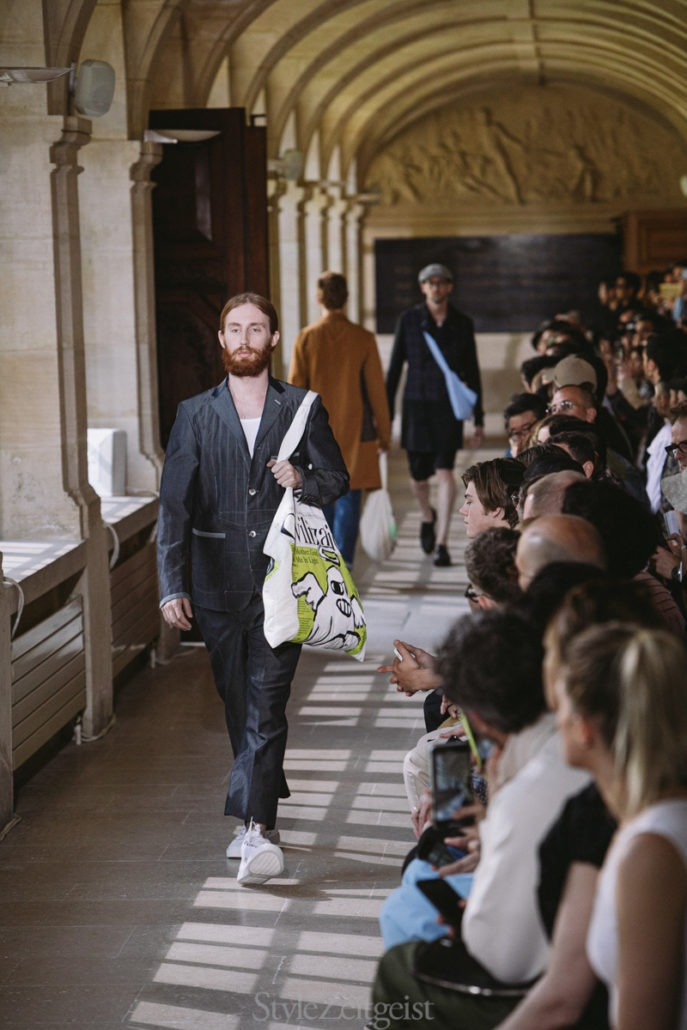 Junya Watanabe S/S20 Men's – Paris - fashion - SS20, Spring Summer, PFW, Paris Fashion Week, Paris, MENSWEAR, Mens Fashion, Matthew Reeves, Junya Watanabe, Fashion, 2019