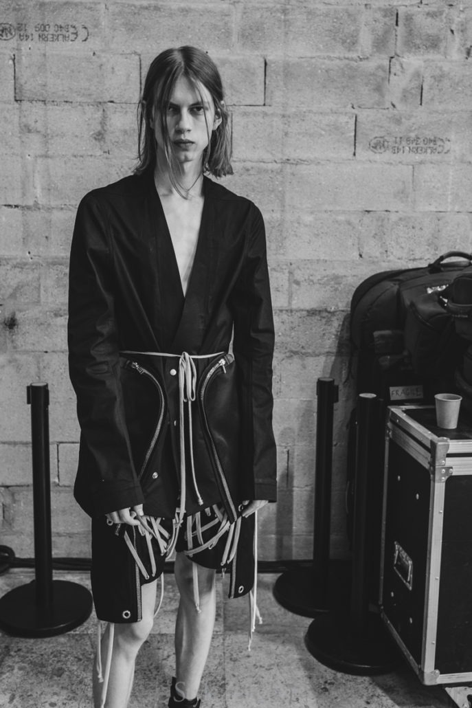 Rick Owens S/S20 Men's – Paris Backstage - fashion - SS20, Spring Summer, Rick Owens, PFW, Paris Fashion Week, Paris, MENSWEAR, Mens Fashion, Matthew Reeves, Fashion, Backstage, 2019