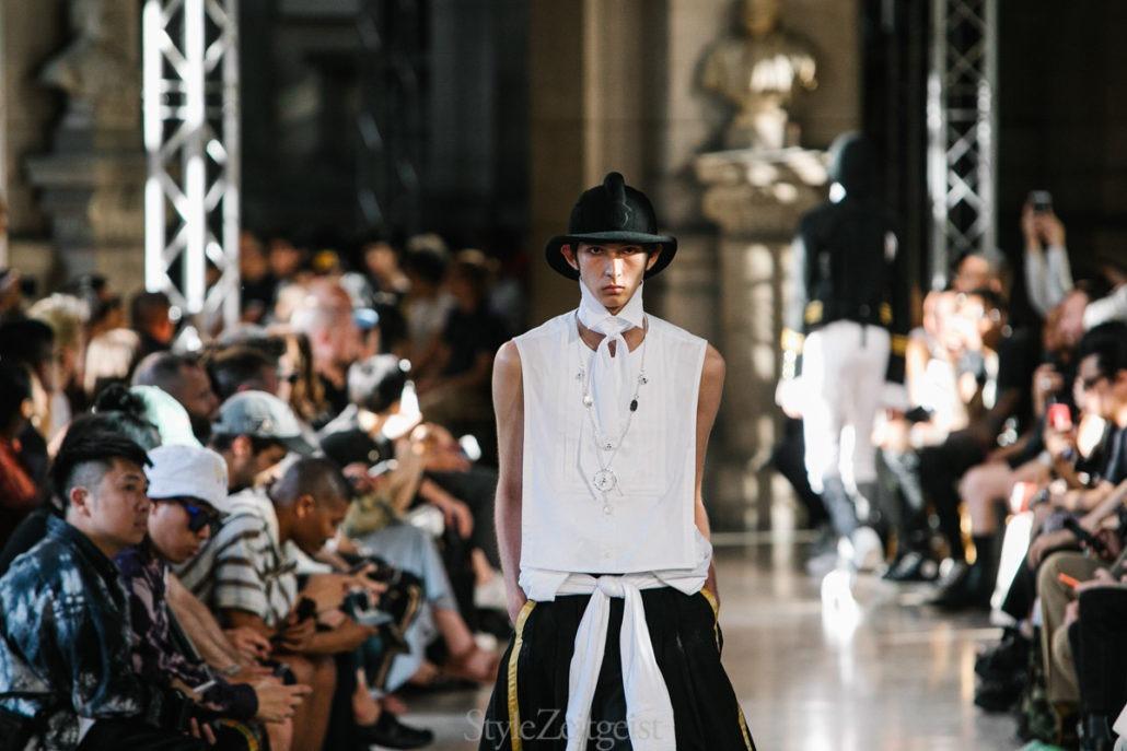 TAKAHIROMIYASHITA The Soloist S/S20 Men's – Paris - TAKAHIROMIYASHITA The Soloist, SS20, Spring Summer, PFW, Paris Fashion Week, Paris, MENSWEAR, Mens Fashion, Matthew Reeves, Fashion, 2019