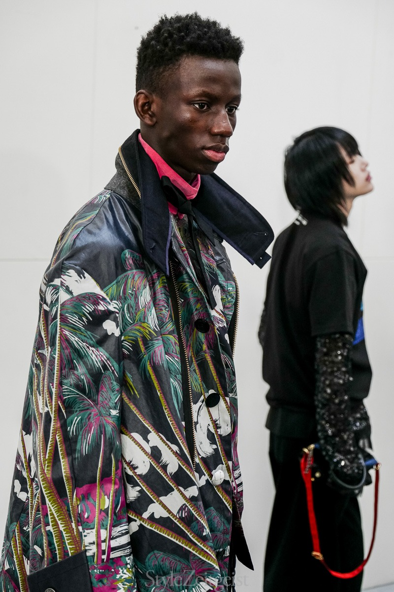 Sacai S/S20 Men's – Paris Backstage - fashion - SS20, Spring Summer, Sacai, PFW, Paris Fashion Week, Paris, MENSWEAR, Mens Fashion, Julien Boudet, Fashion, Backstage, 2019