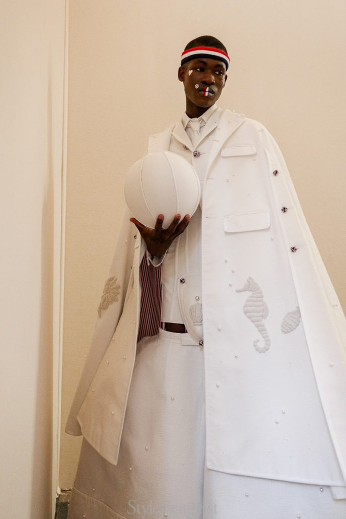 Thom Browne S/S20 Men's – Paris Backstage - Thom Browne, SS20, Spring Summer, PFW, Paris Fashion Week, Paris, MENSWEAR, Mens Fashion, Julien Boudet, Fashion, Backstage, 2019