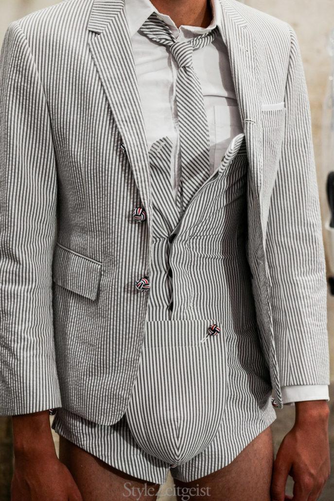 Thom Browne S/S20 Men's – Paris Backstage - fashion - Thom Browne, SS20, Spring Summer, PFW, Paris Fashion Week, Paris, MENSWEAR, Mens Fashion, Julien Boudet, Fashion, Backstage, 2019