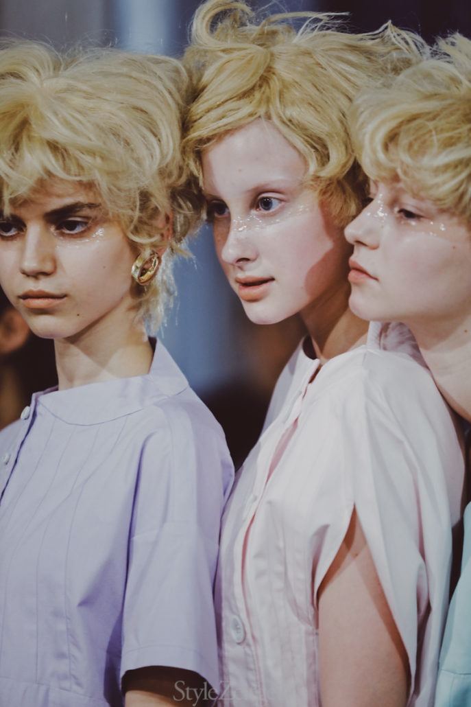 Anrealage S/S20 Women's – Paris Backstage - Womenswear, Women's Fashion, Spring Summer, PFW, Paris Fashion Week, Paris, Fashion, Backstage, Anrealage, Alice Berg, 2019