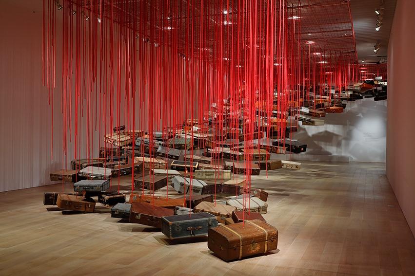 Chiharu Shiota at the Mori Museum - Tokyo, Review, Mori Art Museum, japanese art, Culture, Chiharu Shiota, 2019
