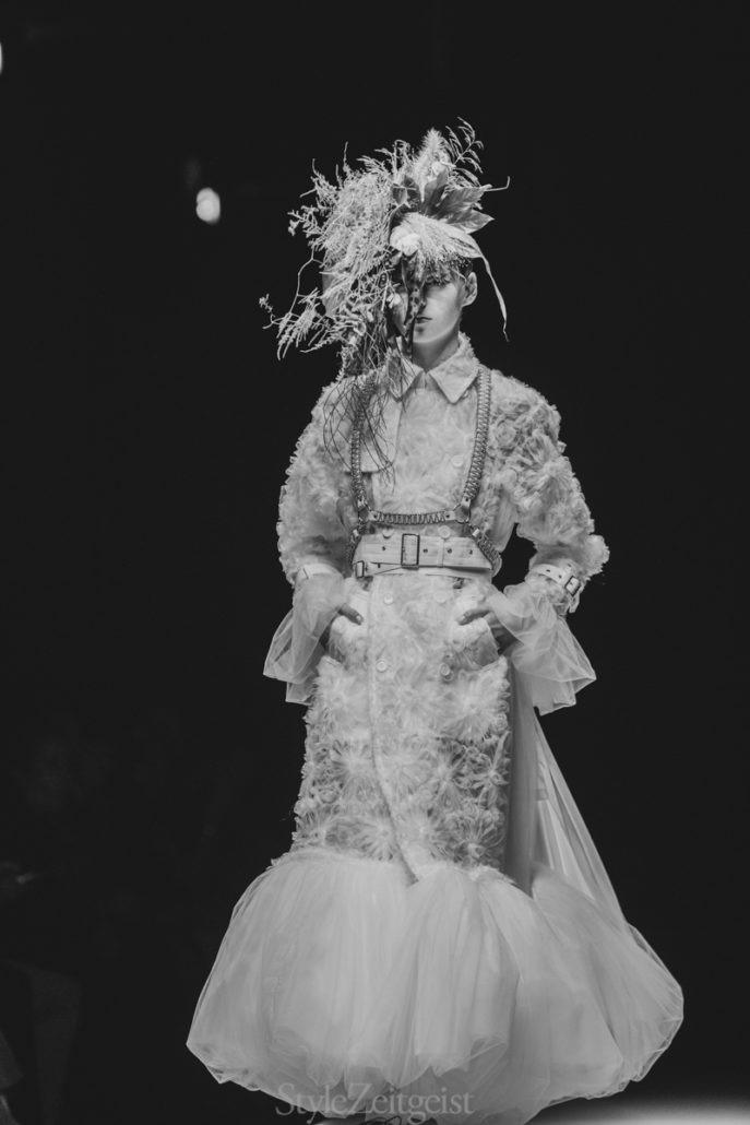 Noir Kei Ninomiya S/S20 Women's – Paris - Womenswear, Women's Fashion, SS20, Spring Summer, PFW, Paris Fashion Week, Paris, Noir Kei Ninomiya, Matthew Reeves, Fashion, 2019