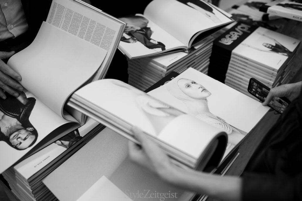Rick Owens Book Signing - Rick Owens, New York, Larry LeGaspi, Danielle Levitt, 2019