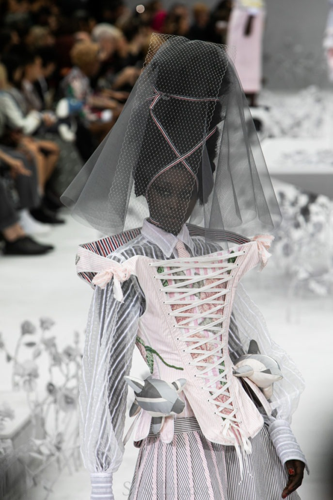 Thom Browne S/S20 Women's – Paris - Womenswear, Women's Fashion, Thom Browne, SS20, Spring Summer, PFW, Paris Fashion Week, Paris, Matthew Reeves, Fashion, 2019