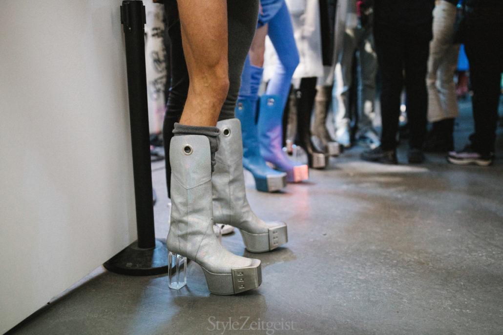 Rick Owens F/W20 Men's – Paris Backstage - Rick Owens, PFW, Paris Fashion Week, Paris, MENSWEAR, Mens Fashion, Matthew Reeves, FW20, Fashion, Fall Winter, Backstage, 2020