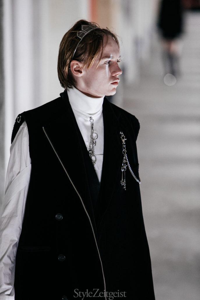 TAKAHIROMIYASHITA The Soloist F/W20 Men's – Paris - TAKAHIROMIYASHITA The Soloist, PFW, Paris Fashion Week, Paris, MENSWEAR, Mens Fashion, Matthew Reeves, FW20, Fashion, Fall Winter, 2020