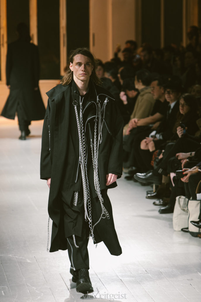 Yohji Yamamoto F/W20 Men's – Paris - Yohji Yamamoto, PFW, Paris Fashion Week, Paris, MENSWEAR, Mens Fashion, Matthew Reeves, FW20, Fashion, Fall Winter, 2020
