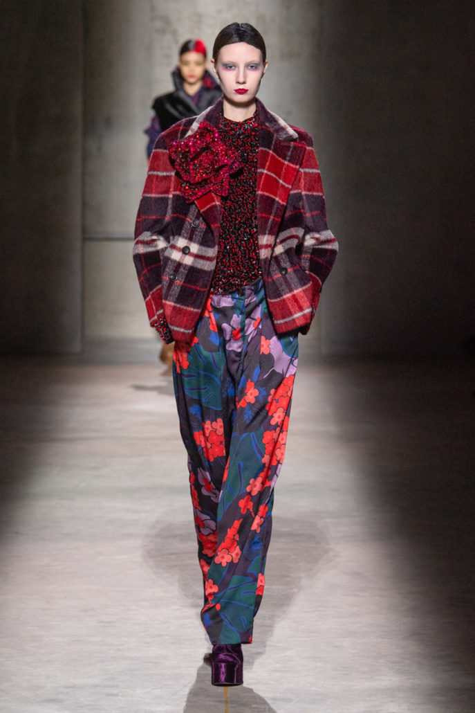 Dries Van Noten F/W20 Women's – Paris - Womenswear, Women's Fashion, PFW, Paris Fashion Week, Paris, FW20, Fashion, Fall Winter, dries van noten, 2020