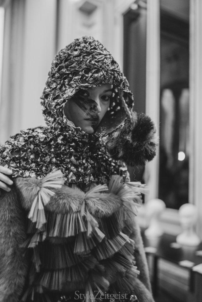 Noir Kei Ninomiya F/W20 Women's – Paris Backstage - Womenswear, Women's Fashion, PFW, Paris Fashion Week, Paris, Noir Kei Ninomiya, Matthew Reeves, FW20, Fashion, Fall Winter, Backstage, 2020