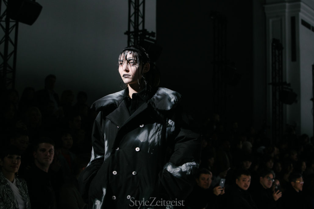 Yohji Yamamoto F/W20 Women's – Paris - Yohji Yamamoto, Womenswear, Women's Fashion, PFW, Paris Fashion Week, Paris, Matthew Reeves, FW20, Fashion, Fall Winter, 2020