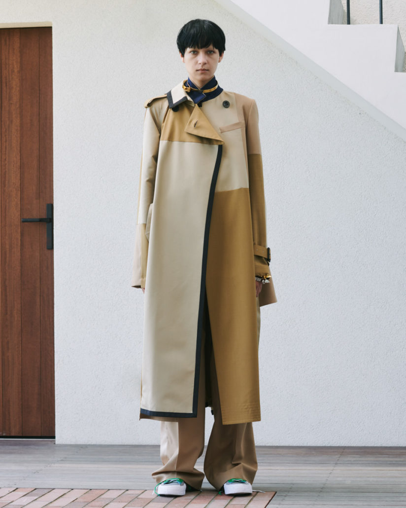 Sacai Resort 2021 Women's – Lookbook - Womenswear, Women's Fashion, Sacai, Resort, lookbook, Fashion, 2020