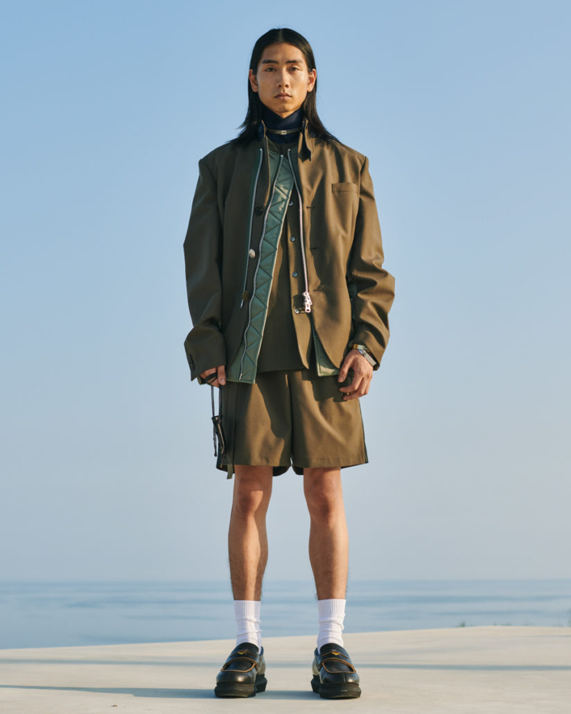 Sacai S/S21 Men's – Lookbook - ss21, Spring Summer, Sacai, PFW, Paris Fashion Week, Paris, MENSWEAR, Mens Fashion, lookbook, Fashion, 2020
